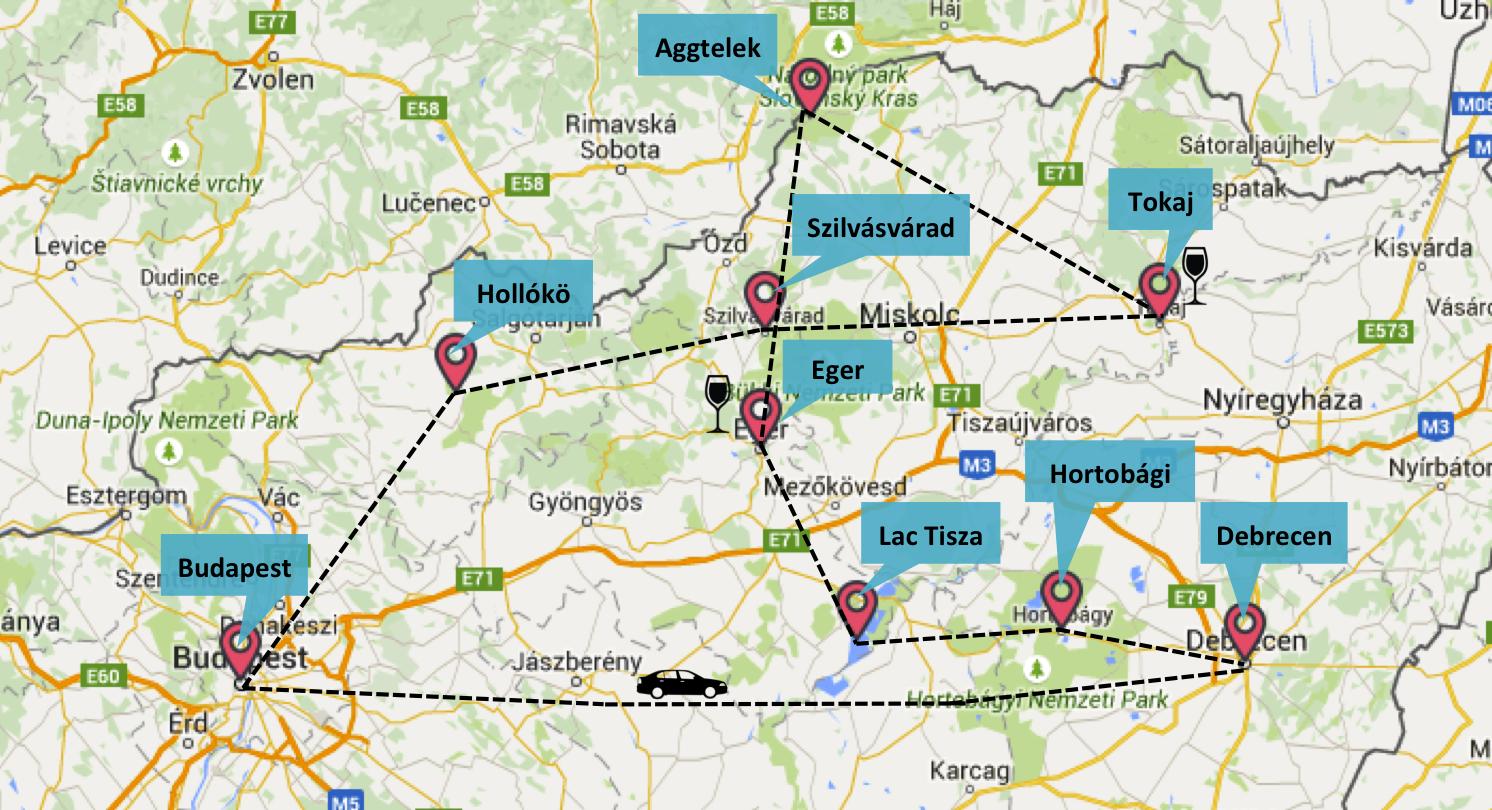Notre road trip en Hongrie - Mai 2015