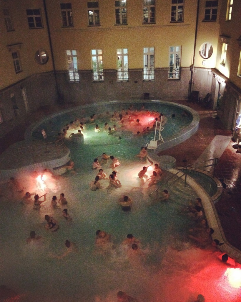 Lukacs Baths, Budapest
