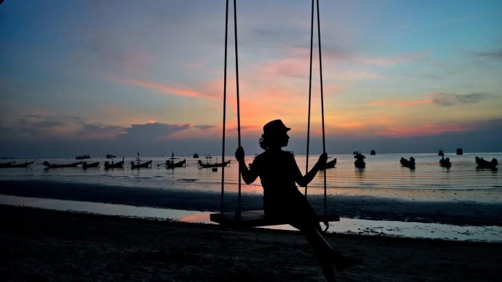 Sunset, Koh Tao, Thailand