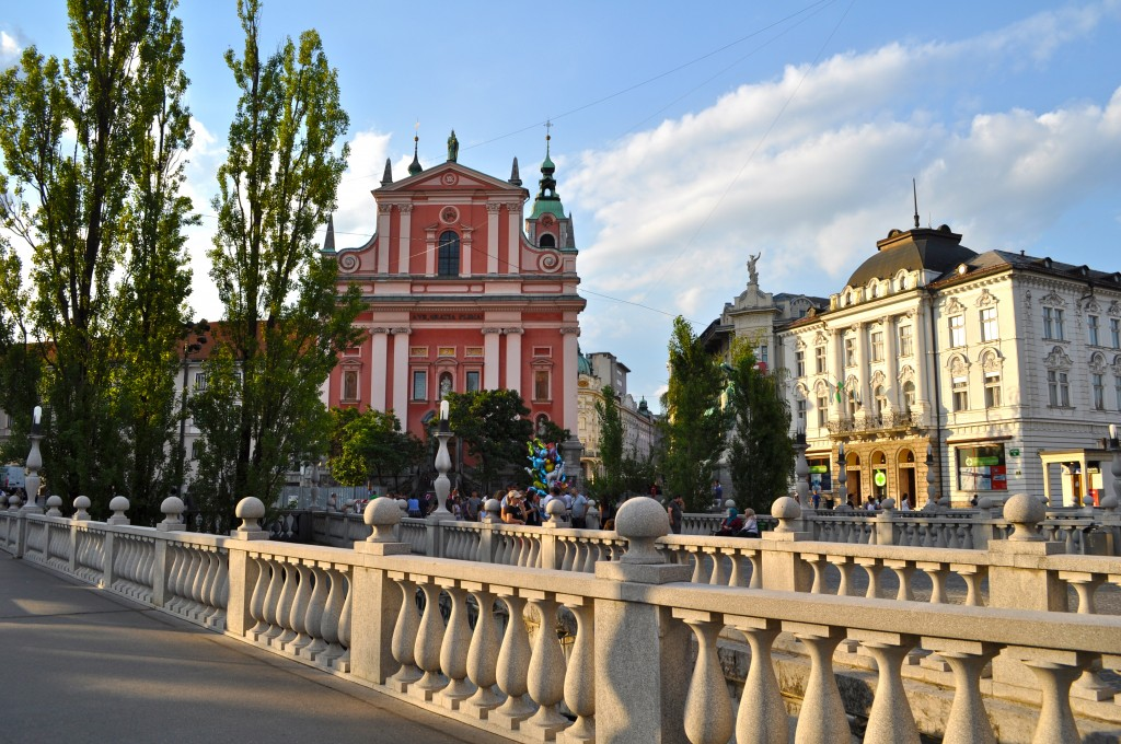 Ljubljana Triple bridge