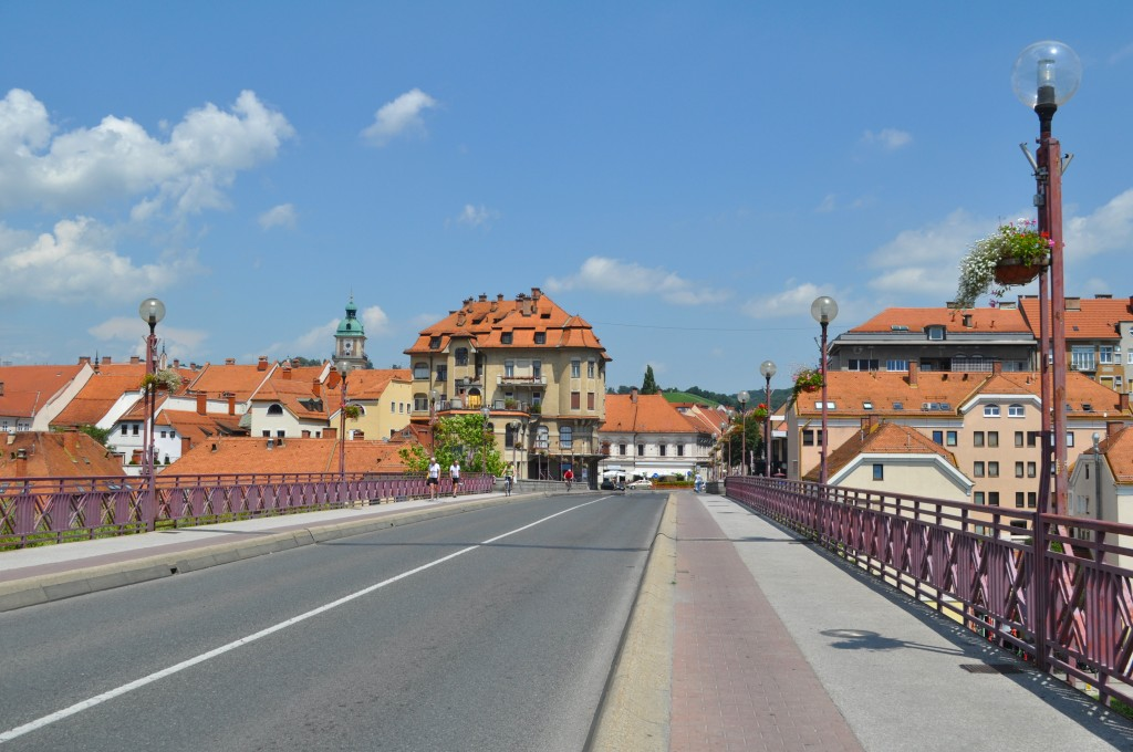 Maribor old bridge