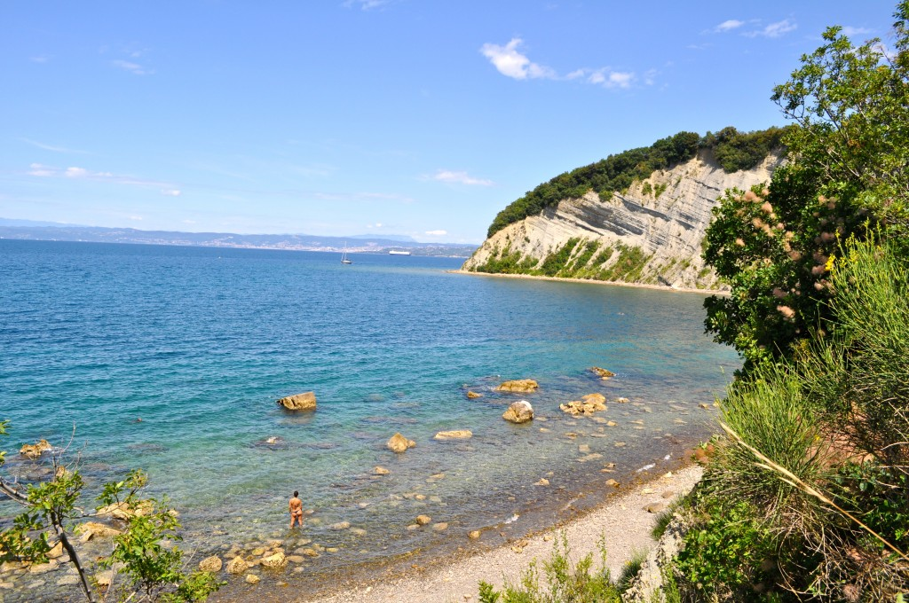Strunjan parc naturel en Slovénie