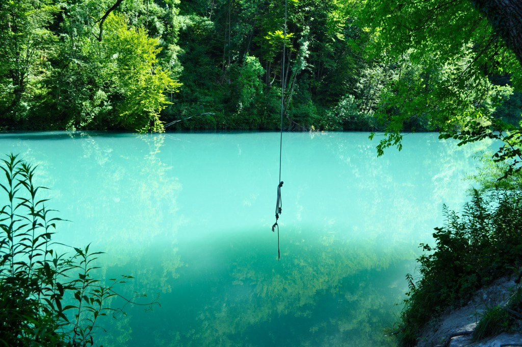 Tolmin river
