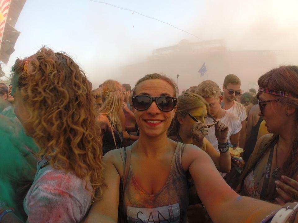 Color Party Sziget Festival