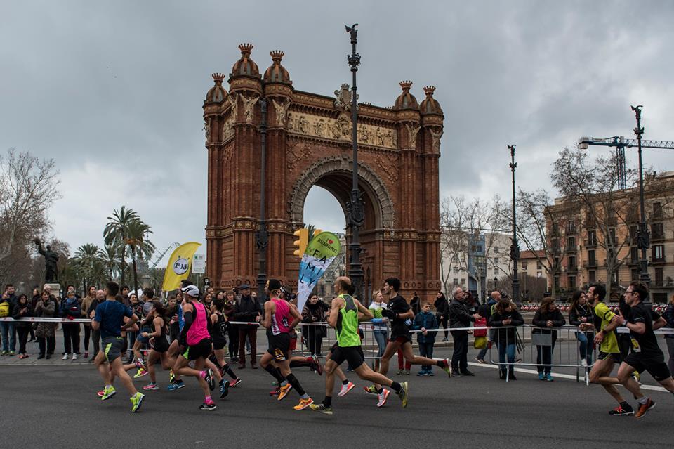 Semi-Marathon de Barcelone, Février 2017