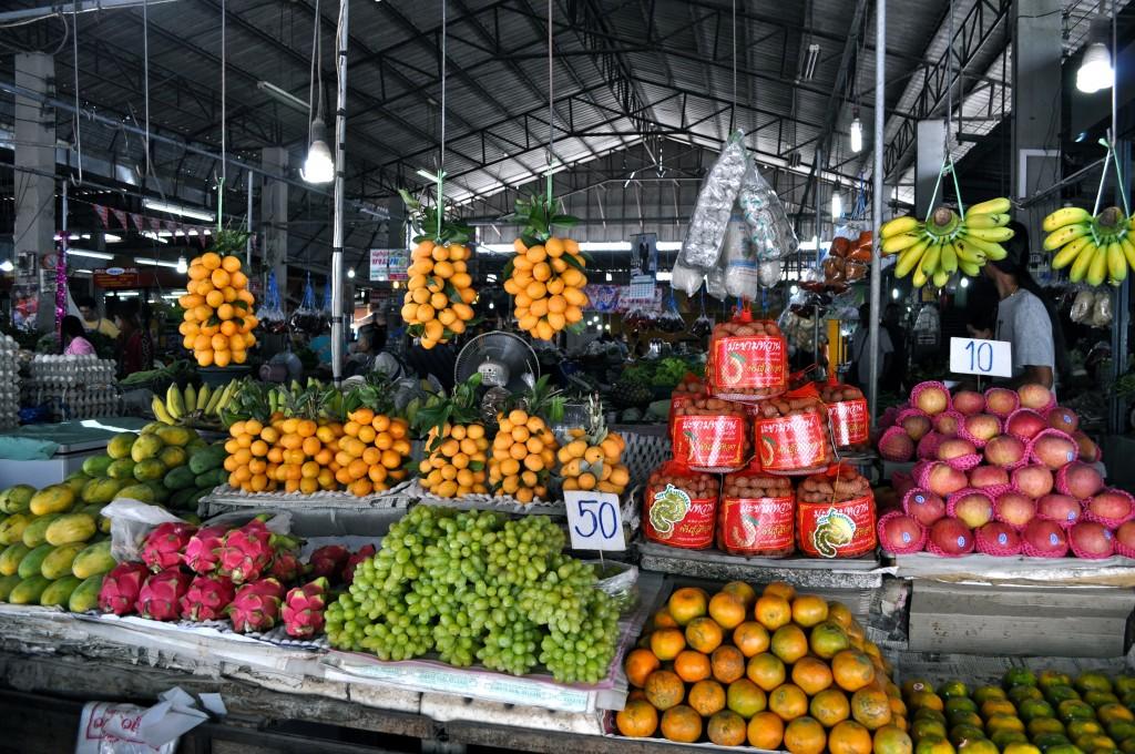 Local Market near Khao Sok, Thailand