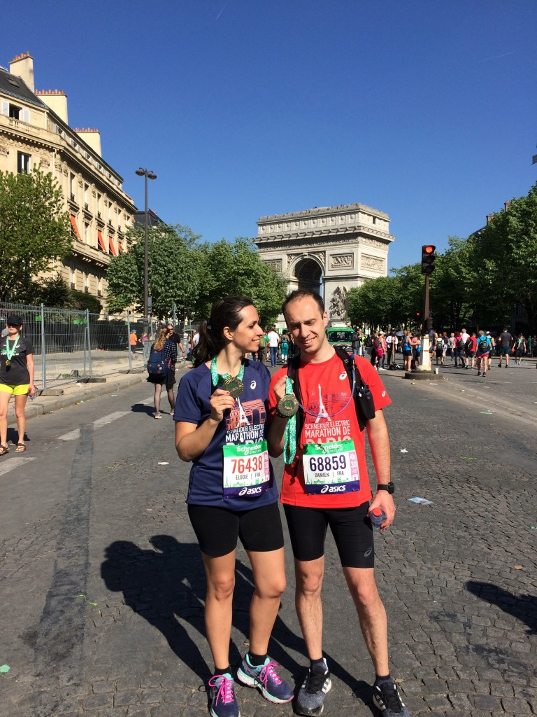 Notre Premier Marathon - Finisher ensemble