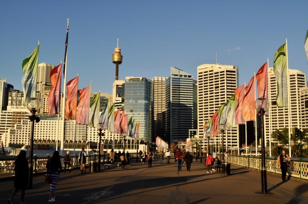 Darling Harbour Sydney Australia