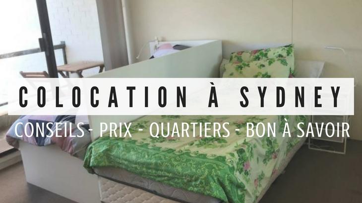 Colocation à Sydney - Conseils d'une expatriée
