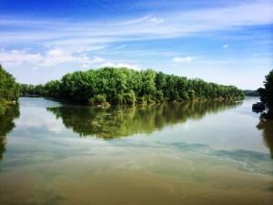 Tokaj, Tisza river, Hungary