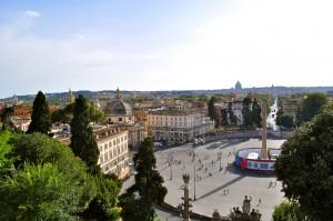 Piazza del Popolo, Rome, Italie, Italy