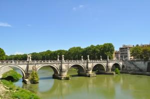 Ponte Sant Angelo, Rome, Italie, Italy
