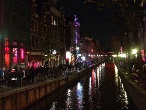 Quartier Rouge, Red district, Amsterdam