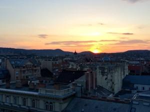 360bar view, Budapest, Hungary