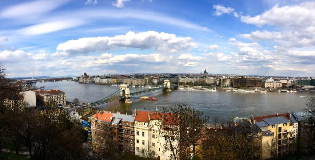 Buda Castle view