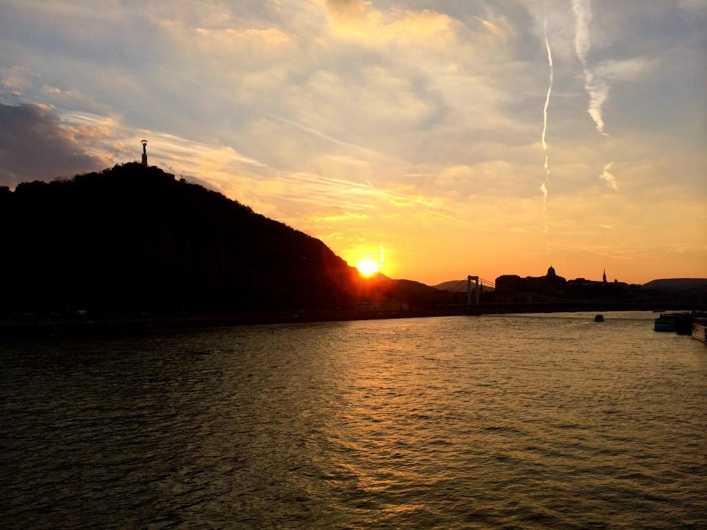 Gellért Hill Sunset