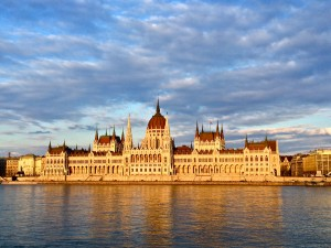 Parliament by day, Budapest