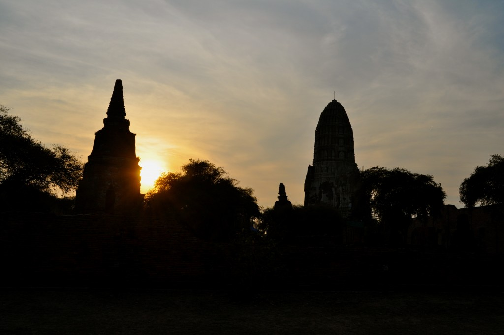 Ayutthaya sunset