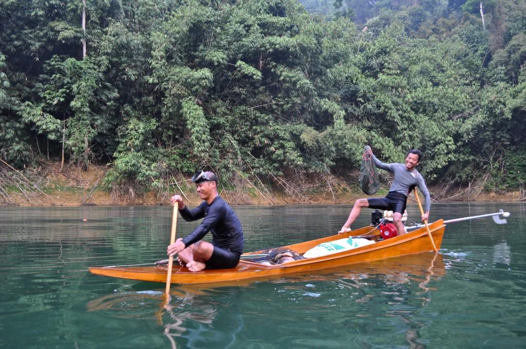 Khao Sok Fisherman