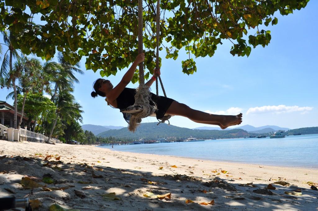 Ko Samui Bo Phut Beach, voyage seule en Thaïlande