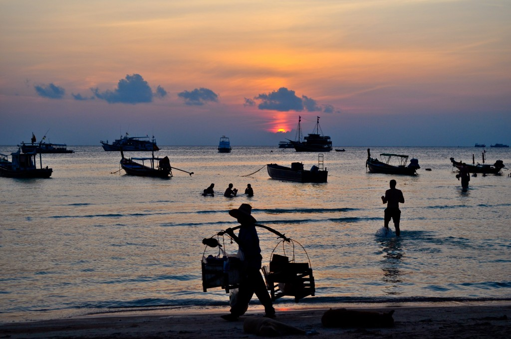 Koh Tao Sunset Sairee Beach