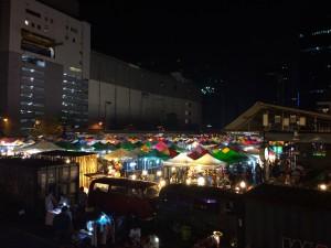 Ratchada Train Market Bangkok Thailand