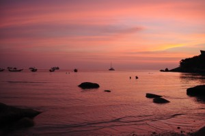 Ko Tao Sunset, Thailand