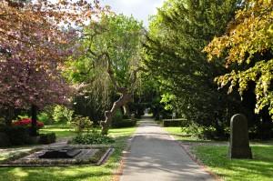 Cemetery park Copenhagen