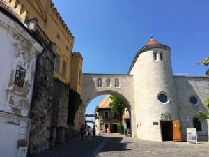 Castle of Veszprem, Hungary