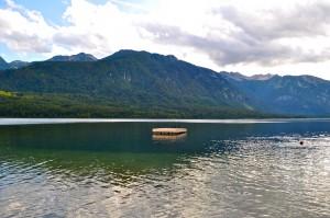Lac Bohinj Slovenie