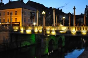 Ljubljana bridge