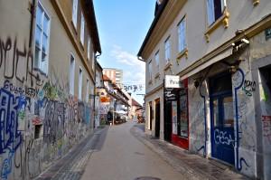 Ljubljana Trubarjeva street
