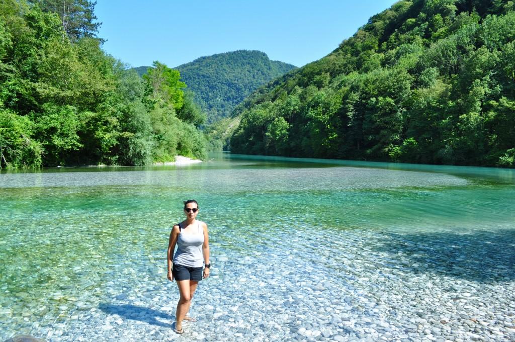 Soca river Tolmin