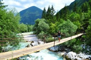 Soca trail bridge