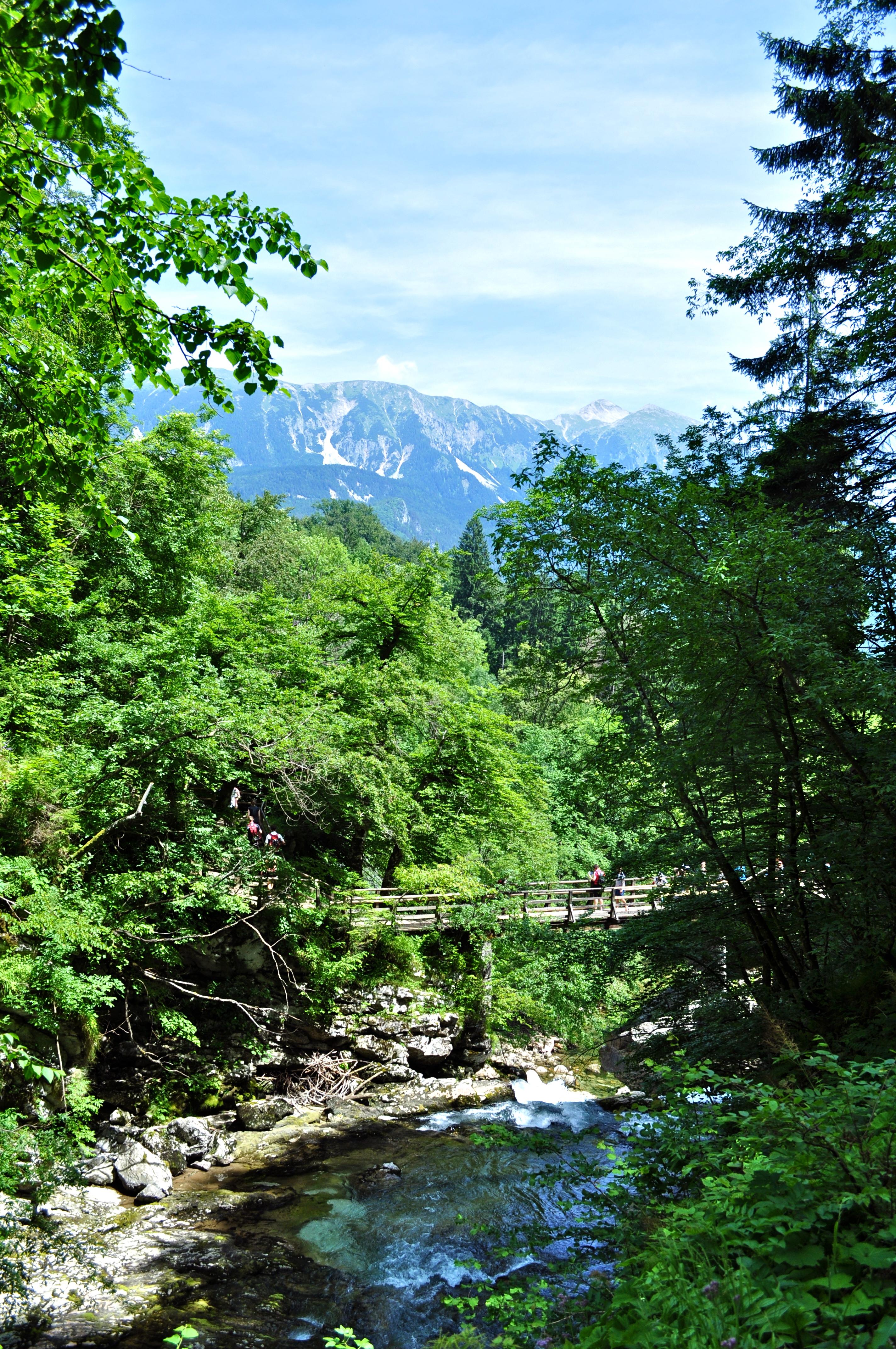 Gorges Vintgar, lac de Bled, Slovenie