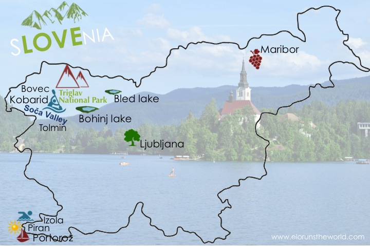 Itinéraire 9 jours de road trip en Slovénie