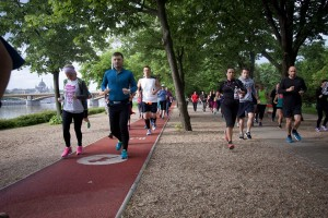 Budapest 5km race on Margit island