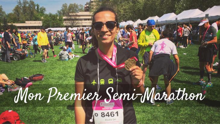 Mon 1er semi marathon