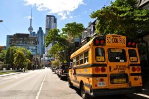 Toronto, School Bus, Canada