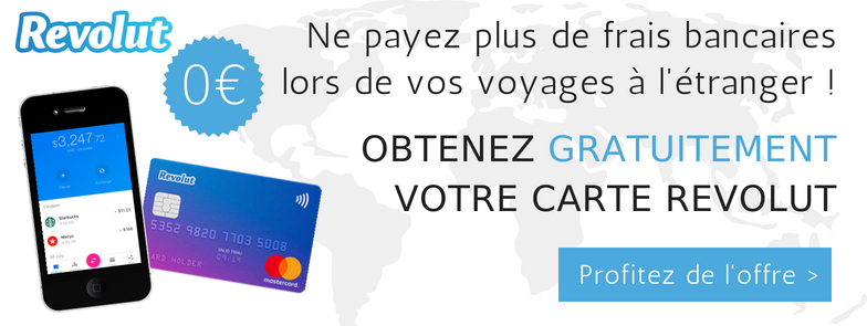 Offre exclusive : Carte Revolut Gratuite