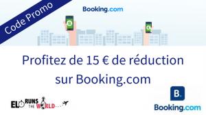 Code Promo 15 € réduction Booking.com
