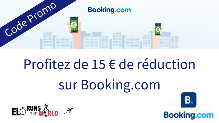 Code Promo 15 € réduction Booking.com