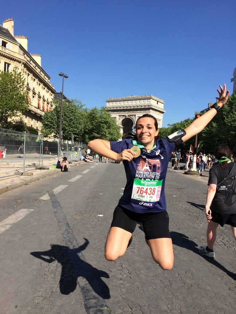 Finisher Marathon de Paris 2017