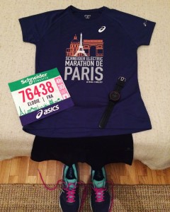 La veille du Marathon de Paris
