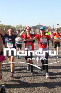 Marathon de Paris 2017 - KM 3