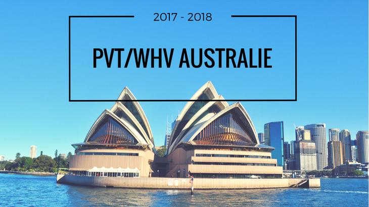 PVT en Australie WHV Australia