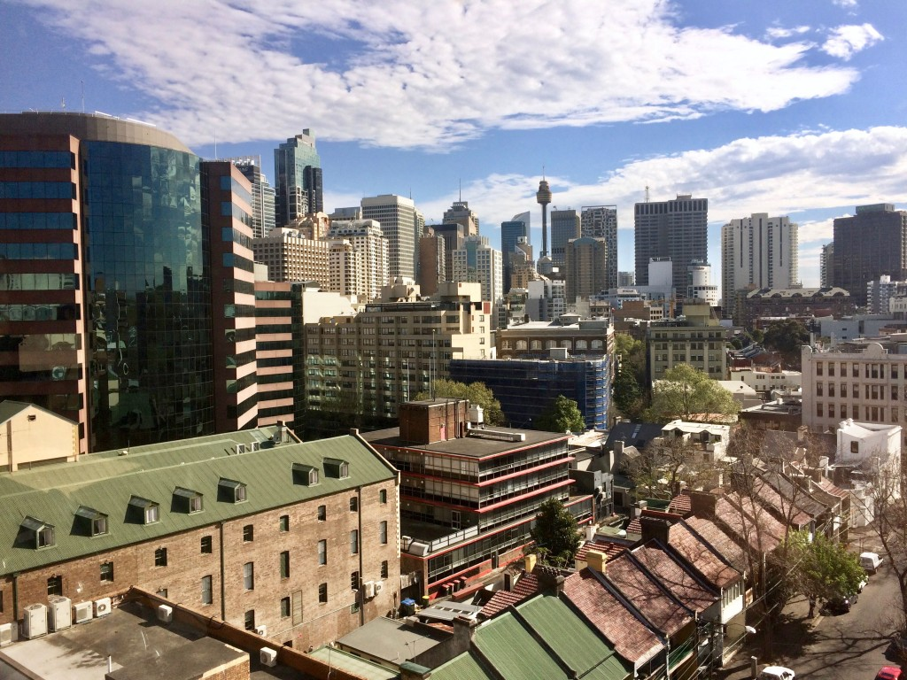 View from the Office in Sydney