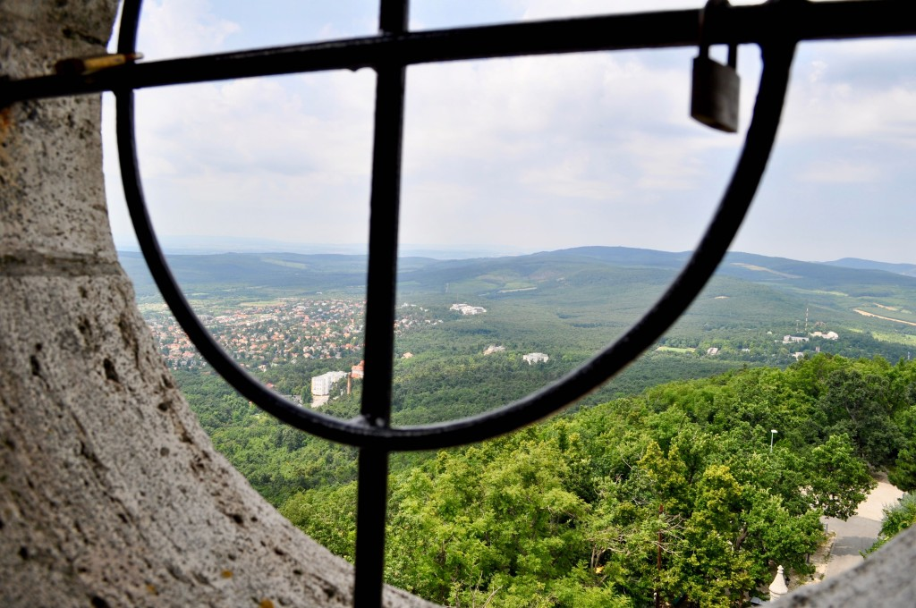 Vue depuis Elisabeth Normafa Budapest