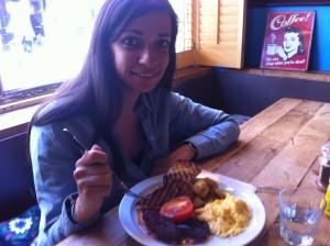 English Breakfast à Londres