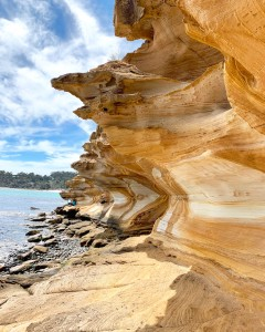 Maria Island Painted Cliffs Tasmania